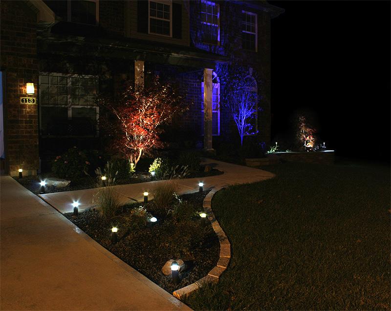 Landscape Lighting & Landscape Lighting - SSE Landscape Contractors azcodes.com