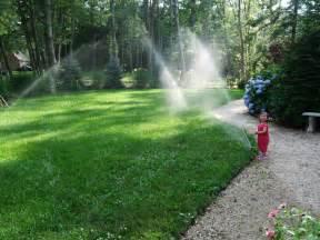 irrigation lawn'